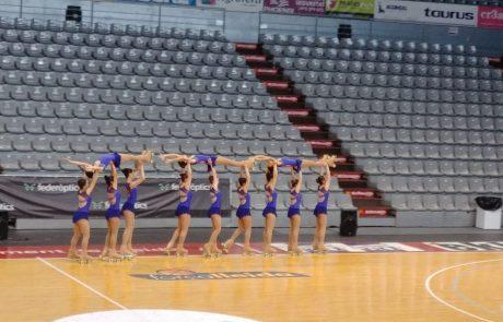 ברגעים אלו בנות הלהקה של מועדון גלגיליות חולון נמצאות באימון רישמי באליפות אירופה אשר בספרד