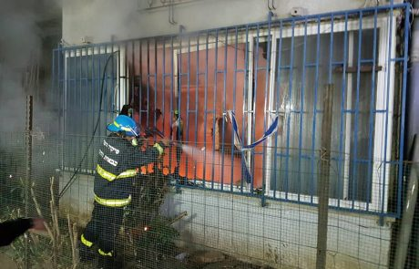 קשיש נספה בשריפה כתוצאה מתנור חשמלי פגום.