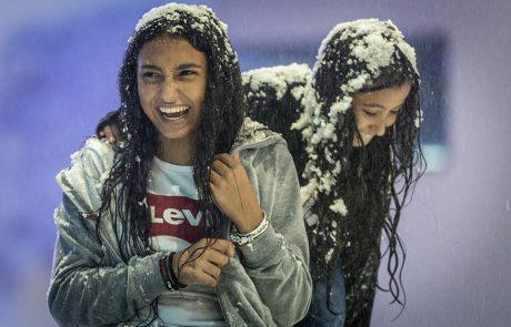 """""""משחקי השלג"""" מתחם שלג ענק!"""