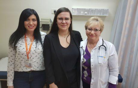 """תושבת חולון נסעה עד לקישינב ללמוד רפואה בהשראת רופאת הילדים שלה, ד""""ר מסרמן"""