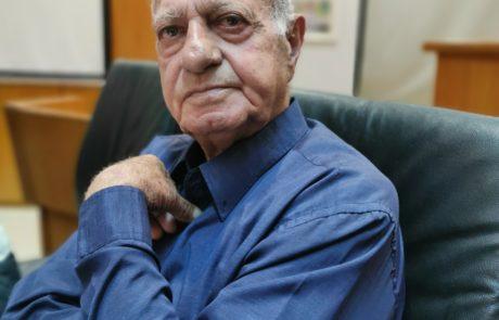 איש החסד והאמת מר עמוס ירושלמי פורש מהחיים הפוליטים