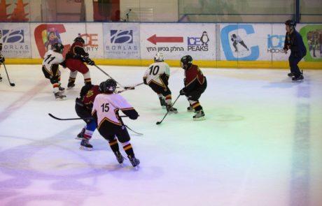 הוקי קרח ! סלובקיה – ישראל  משחק ידידות בהיכל הקרח Ice Peaks חולון