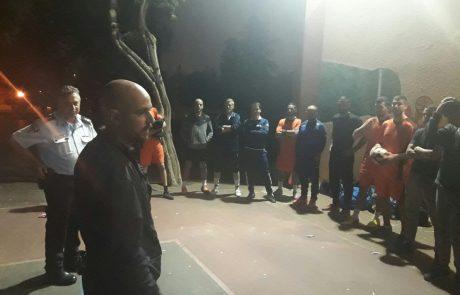 """יום קהילה ומשטרה בהובלת מש""""ק קרית שרת דוד מירה בב""""ס אריאל שרון"""