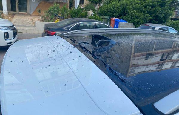 מה עושים במצב שרסיסים פגעו ברכב?