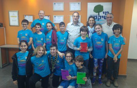 נבחרת הרובוטיקה של בית הספר א.ד. גורדון
