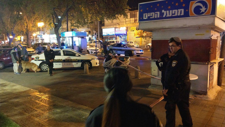 אלימות ברחוב סוקולוב
