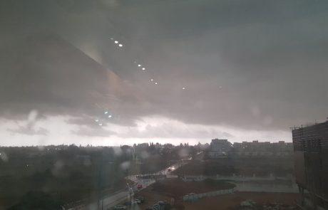 גשם כבד פקד וימשיך לפקוד את עירנו חולון,סעו בזהירות