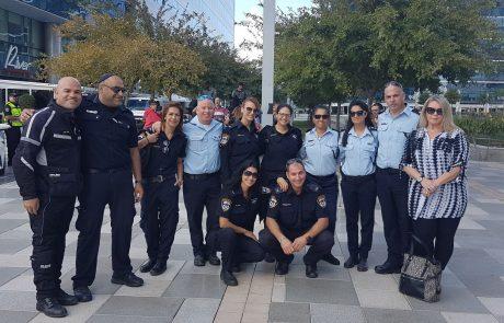 פעילות של המשקם עם משטרת ישראל מרחב איילון וכוחות הביטחון