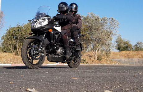 הצצה נדירה ליחידת האופנוענים של מרחב איילון
