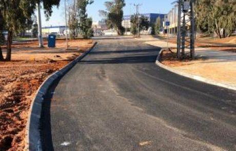 בתום שנתיים של עבודות: השבוע ייפתח הכביש החדש
