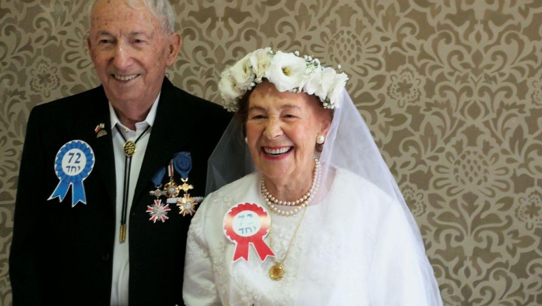 חתונת הזהב ל – 18 זוגות ניצולי שואה