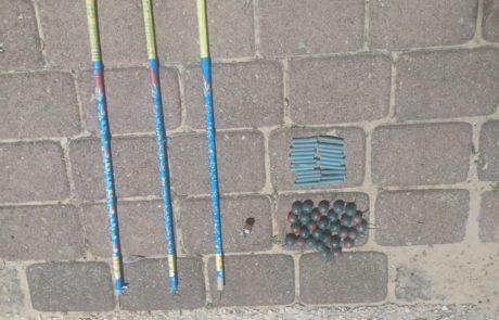יחידת השיטור העירוני של חולון עיכבה אמש 3 חשודים בגין הפעלת נפצים במקום ציבורי.