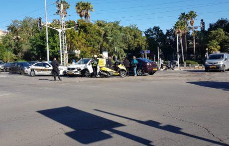 המשטרה מבצעת כעת שינויים עתיים בהסדרי התנועה בחולון בשל עומסי תנועה במקום