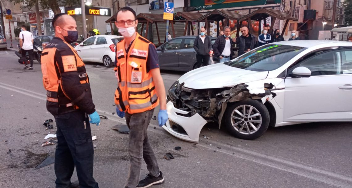 סוקולוב תאונת דרכים