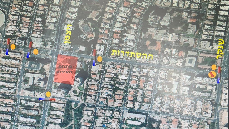 משטרת ישראל נערכת לאבטחת טקס ערב יום הזיכרון לחללי מערכות ישראל ופעולות האיבה בחולון.