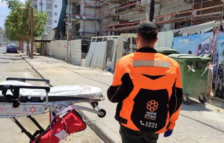 בן 30 נפל לפיר מעלית במבנה – מצבו בינוני