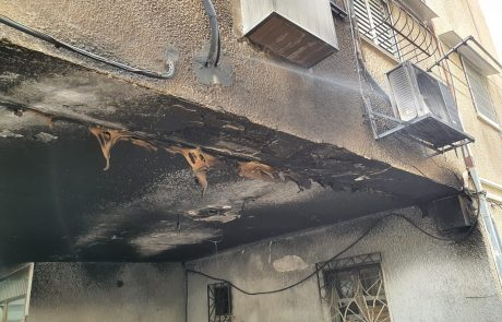 צוותים פעלו הלילה בשריפה שפרצה מתחת לבניין מגורים ברח' הטייסים בחולון.