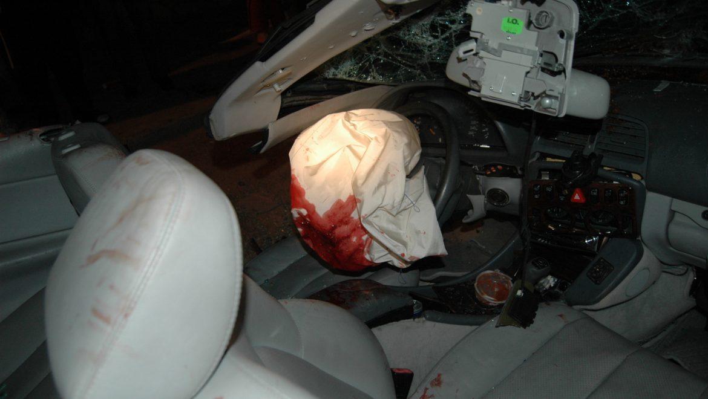 בחולוןנפגעו 238 בני אדם בתאונות דרכים בצמתים בשנת 2017 (חודשים ינואר-נובמבר), אדם אחד נהרג